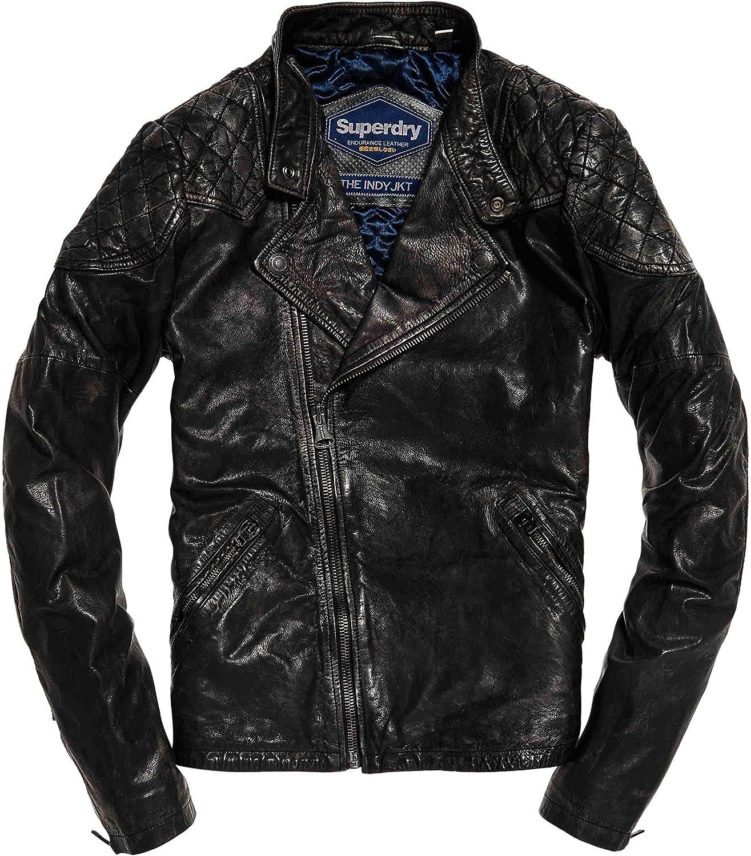 Superdry M50032YP GN4 Veste noire: : Vêtements et