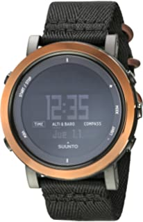 Suunto Mens Essential SS022440000 Black Nylon Swiss Quartz Watch