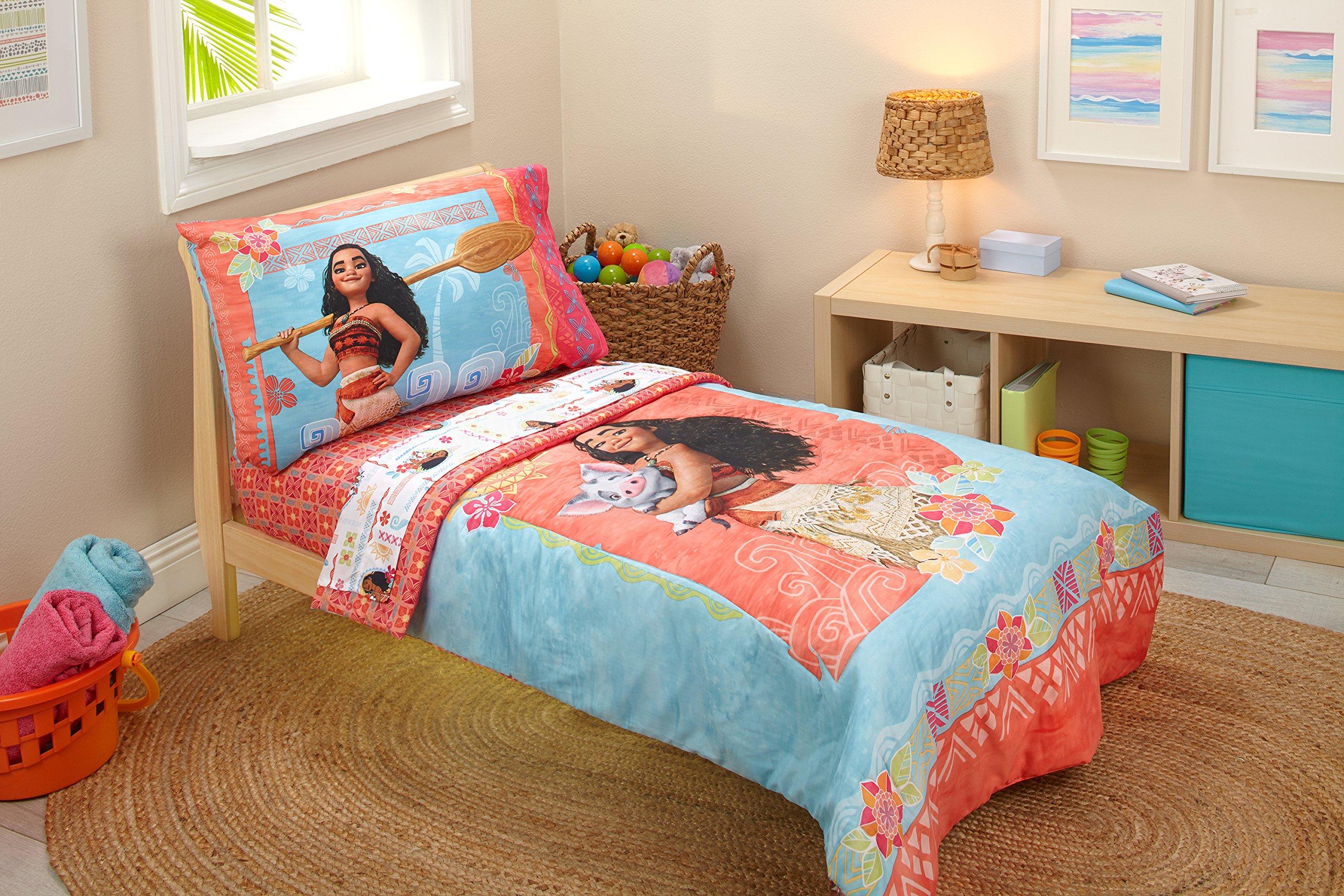 Disney Moana Toddler 4 Piece Bedding Set by Disney