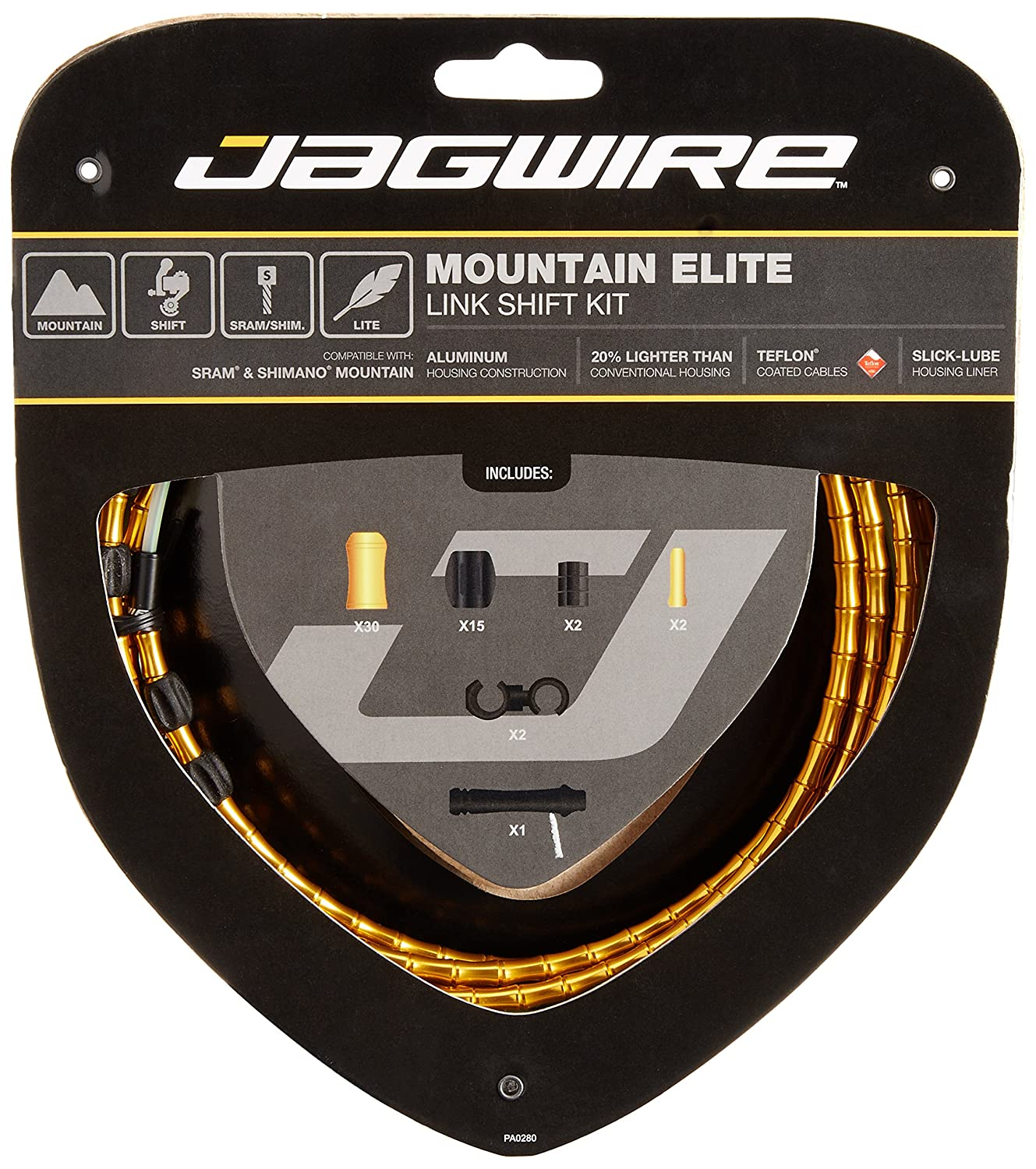 Jagwire Mountain Elite Link Bicycle Shift Cable