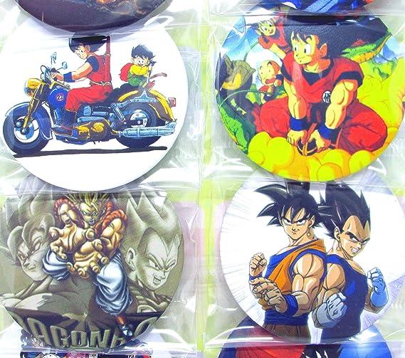 Amazon.com: Dragon Ball Z Botones Set ~ cumpleaños fiesta ...