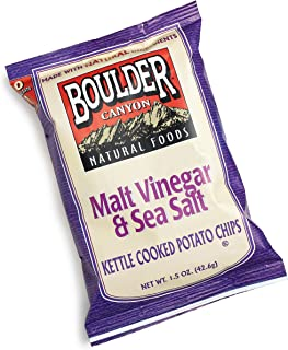 product image for Boulder Canyon Kettle Chips, Malt Vinegar and Sea Salt, 1.5-Ounce Bags (Pack of 36)
