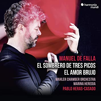 マヌエル・デ・ファリャ : バレエ音楽 「三角帽子」 「恋は魔術師」 (Manuel de Falla : El Sombrero de Tres Picos | El Amor Brujo / Mahler Chamber Orchestra | Marina Heredia | Pablo Heras-Casado) [CD] [Import] [日本語帯・解説付]