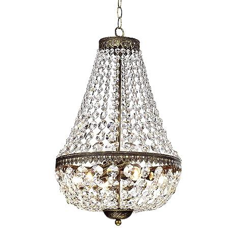 Symmetric 6 light antique copper chandelier amazon symmetric 6 light antique copper chandelier aloadofball Gallery
