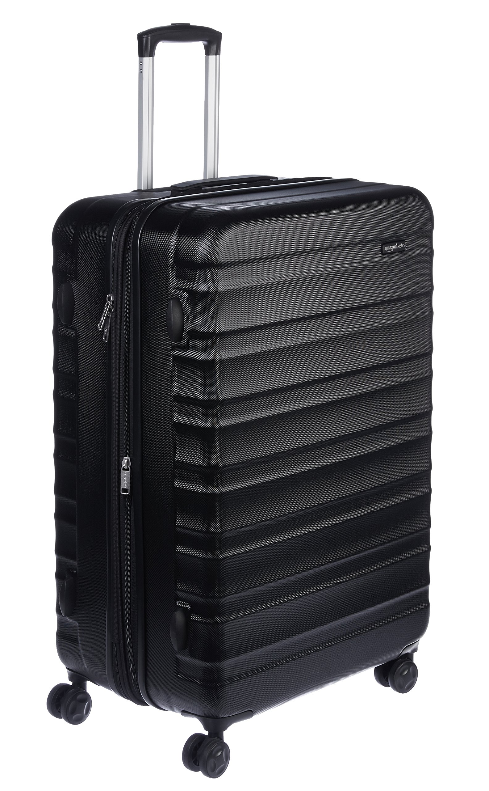 AmazonBasics Hardside Spinner Travel Luggage Suitcase - 28 Inch, Black by AmazonBasics