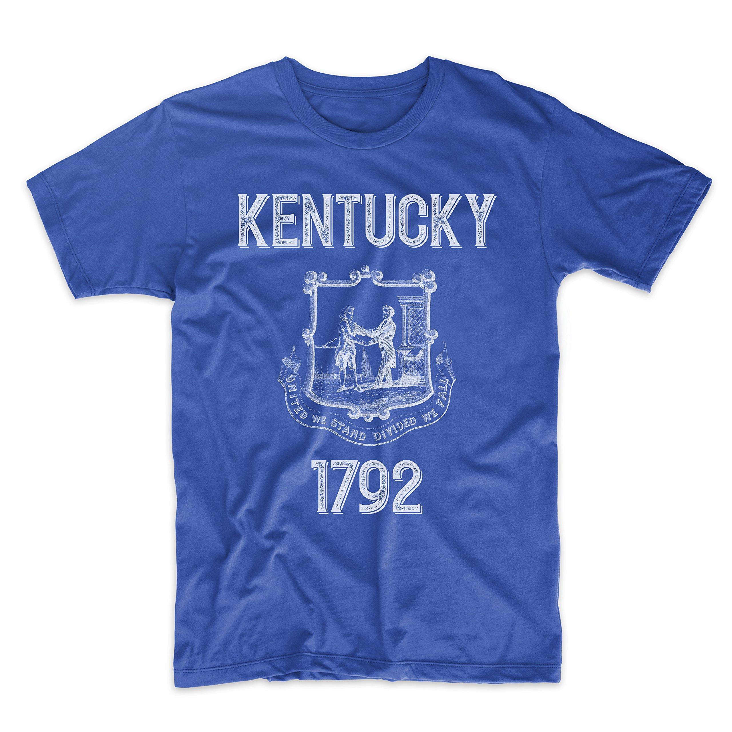 PatentPrints Kentucky Coat of Arms T Shirt