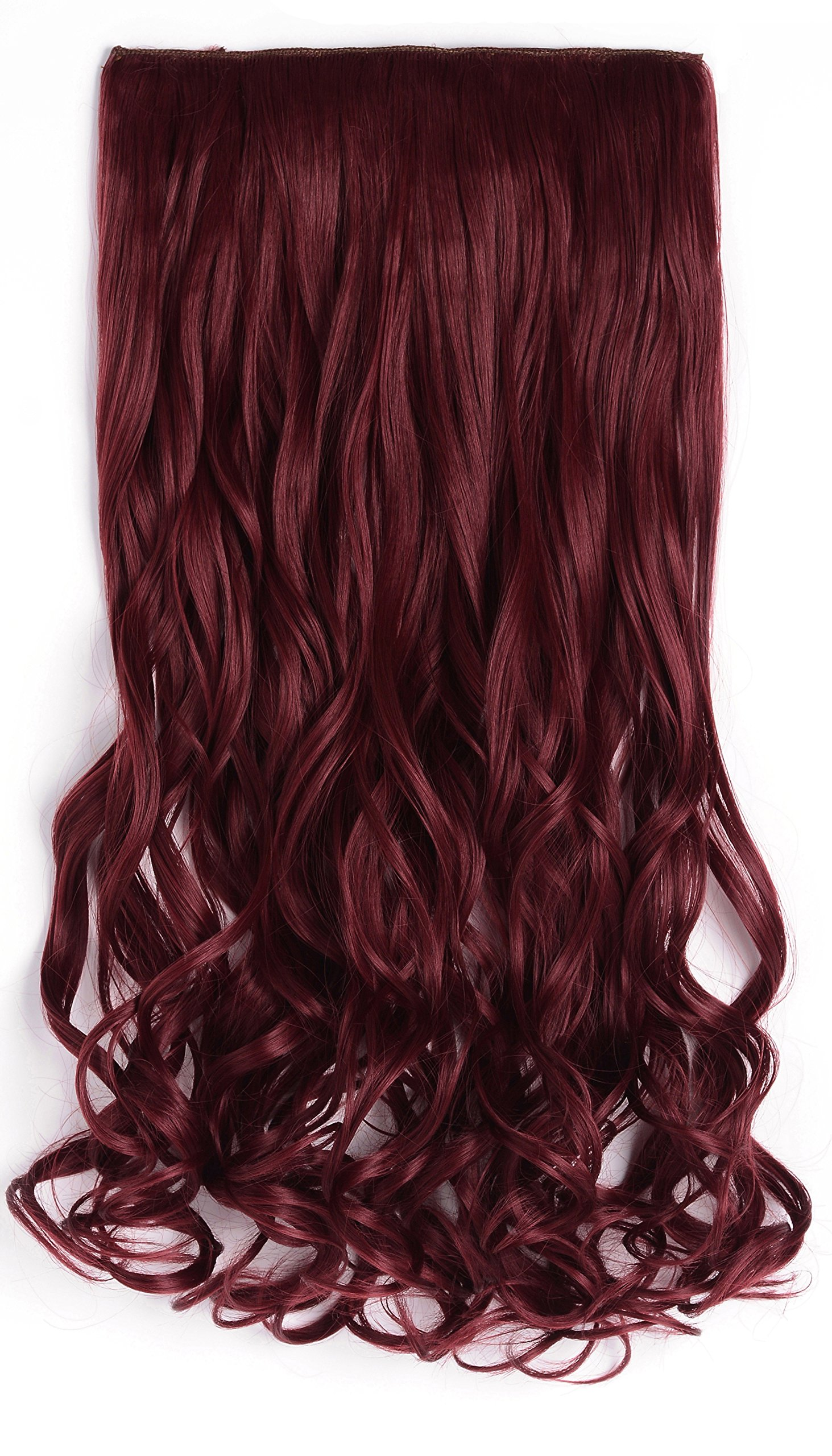 Amazon onedor 20 curly full head clip in synthetic hair onedor 20 curly 34 full head synthetic hair extensions clip onin pmusecretfo Image collections