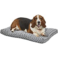 MidWest Homes for Pets Deluxe Super Plush Pet Beds, Machine Wash & Dryer Friendly, 1-Year…