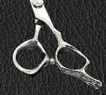 "Equinox Snake Style Professional Barber Scissors Luxury (6.5"" Cutting)"