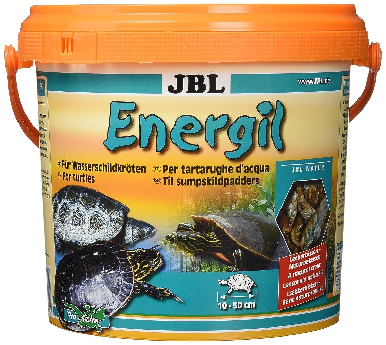 JBL Hauptfutter für Sumpf- und Wasserschildkröten, Energil 1er Pack (1 x 2 5 l) 7031400 Aquaristikzubehör