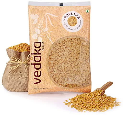 Amazon Brand - Vedaka Popular Toor/Arhar Dal, 2kg
