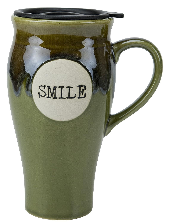 Boston Warehouse Hot Stuff Ceramic 18-Ounce Mug Merlot 85635