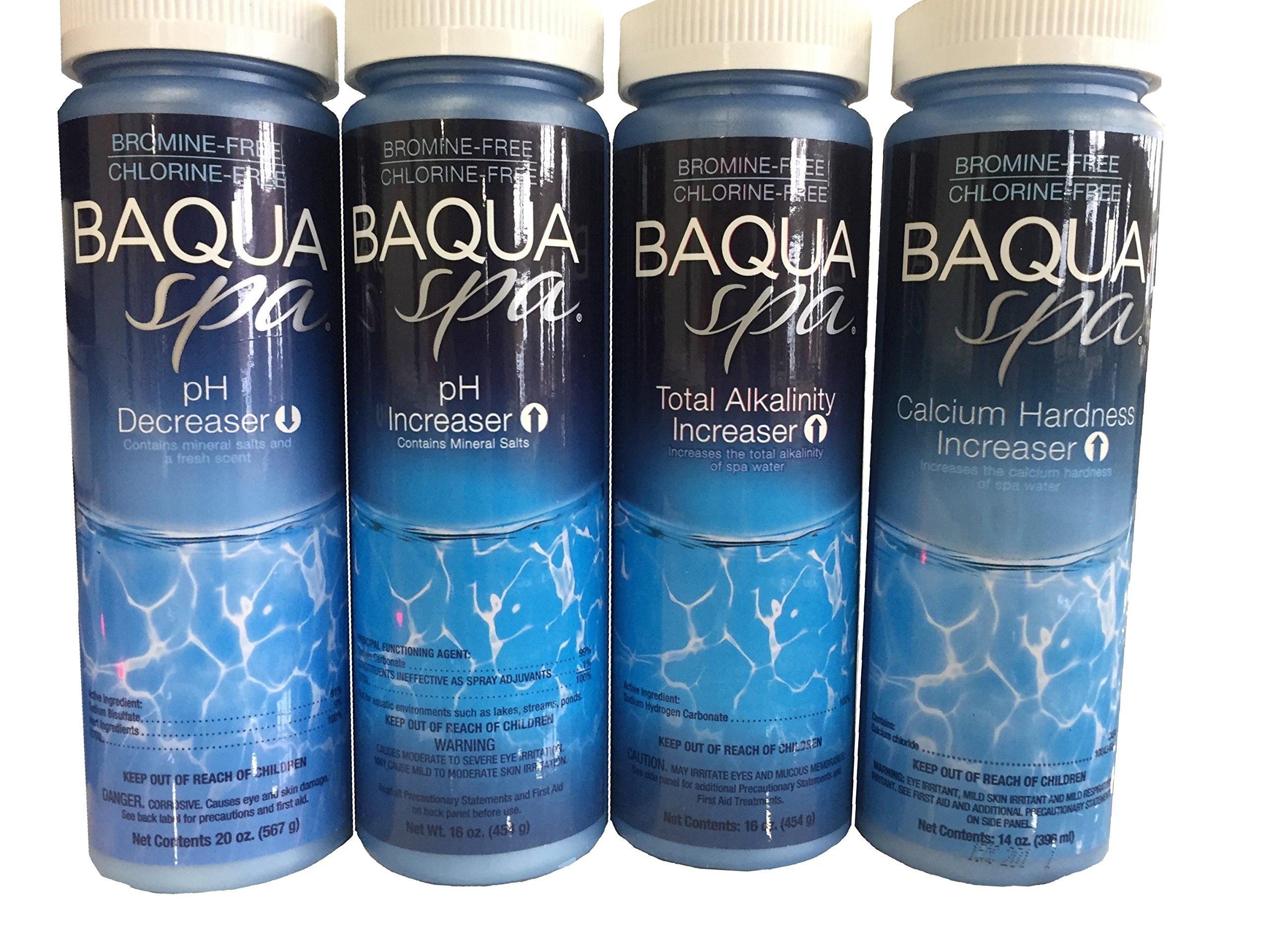 Baqua Spa Water Balancers with 3 Insparation 1/2 oz Sampler Packs by Baqua Spa