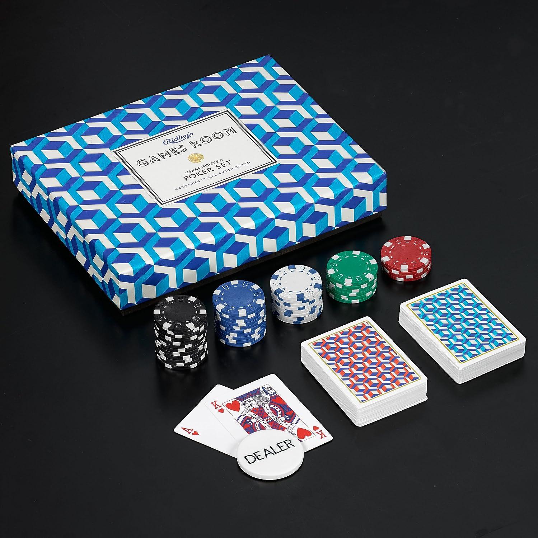 L/&G AGAM005 Ridleys Utopia Games Room Poker Set Wild /& Wolf