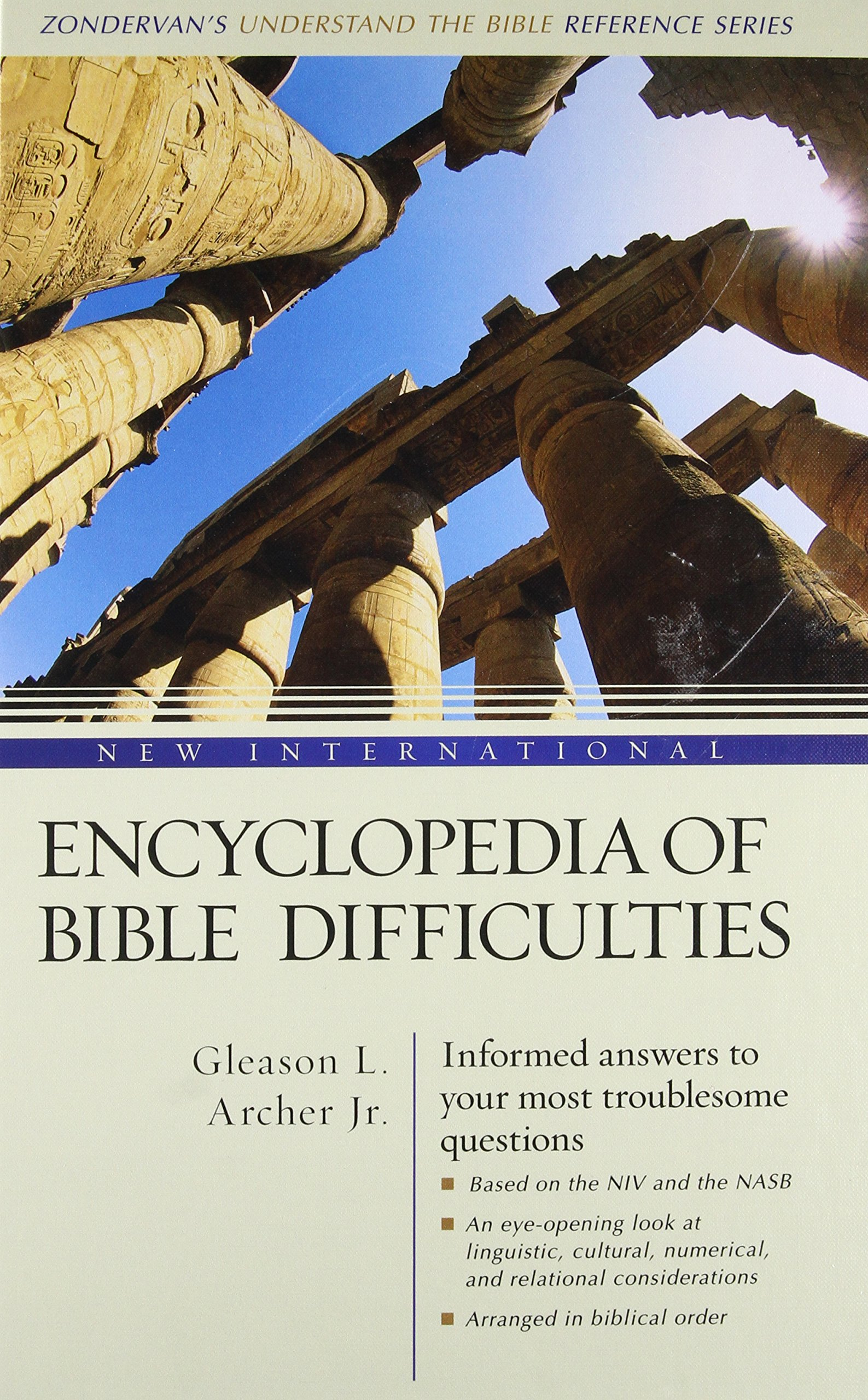 New International Encyclopedia of Bible Difficulties by HarperCollins Christian Pub.