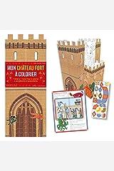 Mon chateau-fort a colorier Paperback