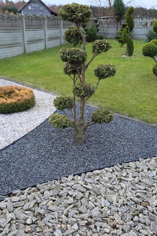 landscape ideas 4cm high 30 anchors sarcia.eu Flexible lawn plastic edging plastic Green 10 meters with anchors