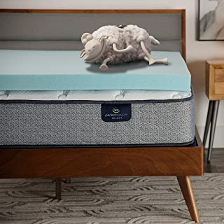 product image for Serta ThermaGel 3-in Memory Foam Mattress Topper, Queen