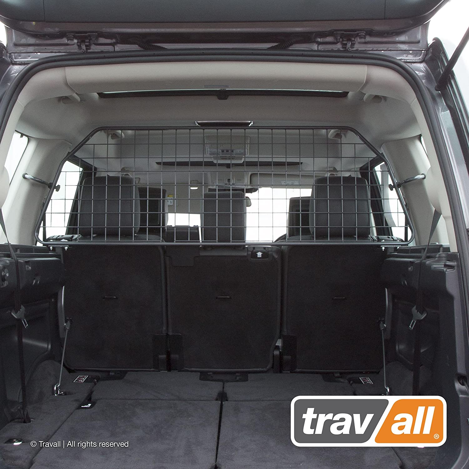 Travall Guard Compatible with Land Rover LR3 Discovery 3 2004-2009 LR4 Discovery 4 2009-2016 TDG1509 – Rattle-Free Steel Pet Barrier