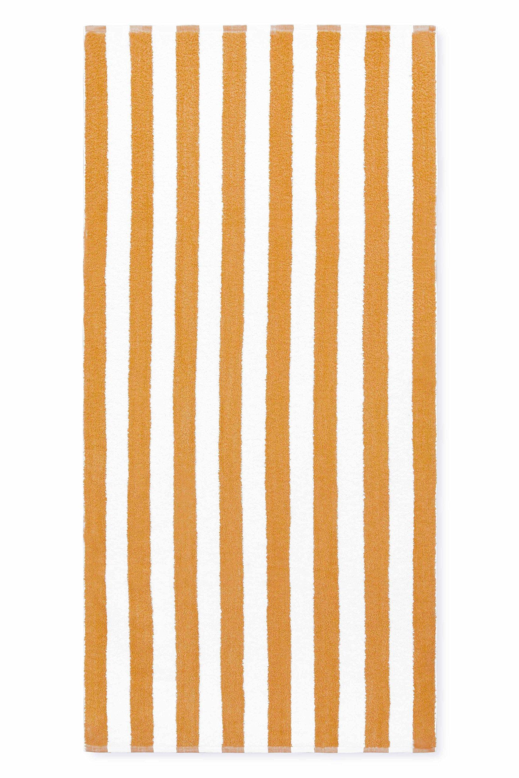 Cabana Stripe Towel - full length