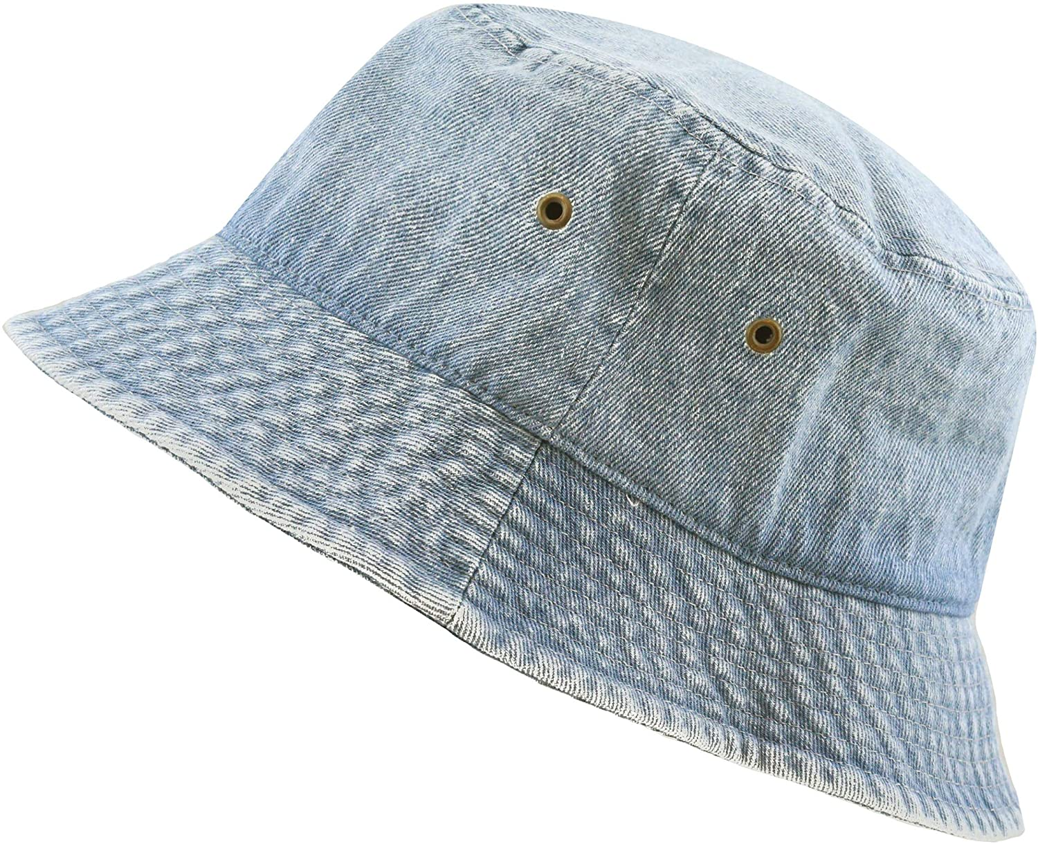 The Hat Depot Washed Cotton Denim & Tie Dye Bucket Hat at  Women's Clothing store