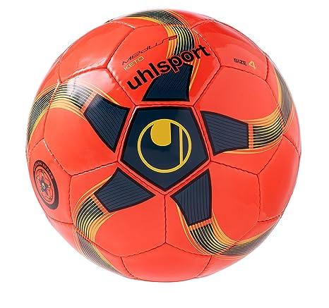 uhlsport Medusa Keto Balón Futbol, Unisex, Naranja (Fluor/petróleo ...
