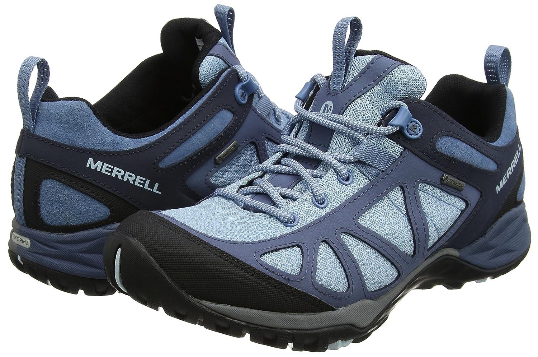 Merrell Damen Siren Siren Damen Sport Q2 GTX Trekking-& Wanderhalbschuhe, blau Blau Blau) 66d128