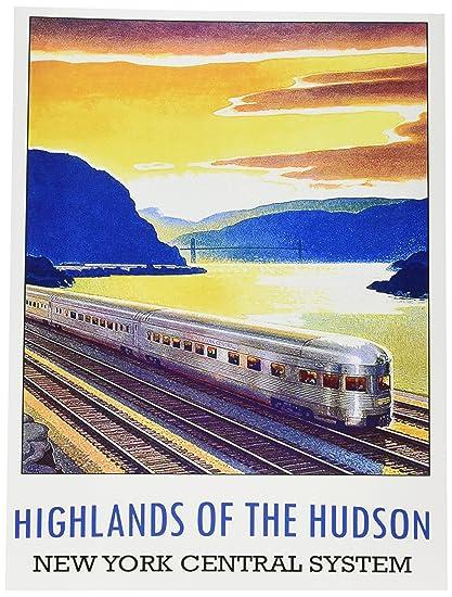 Amazoncom Wee Blue Coo Travel New York Usa Hudson Highlands Train