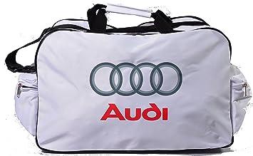 Neu Audi Logo Sporttasche Leichte Seesack Reisegepaeck