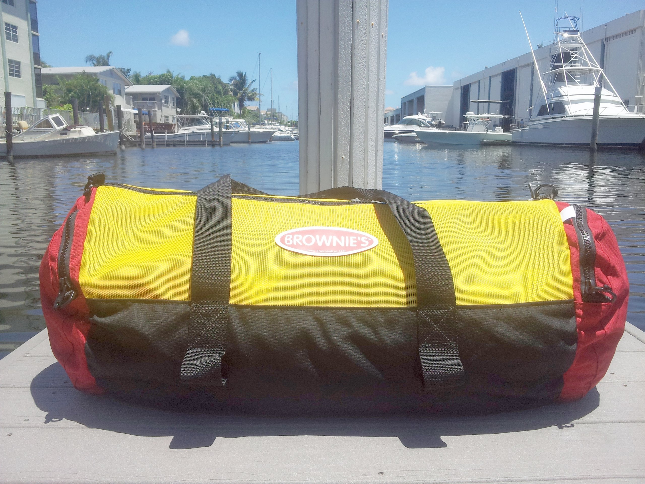 Brownie's Third Lung Mesh Deluxe Gear Bag