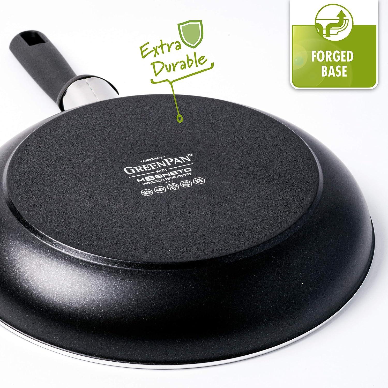 3.1/litri GreenPan CC001665/ /001/Memphis pan set nero