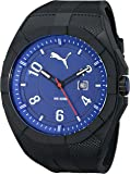 PUMA Men's PU103501008 Iconic Black Blue Analog...