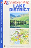 Lake District Visitors Map (A-Z Visitors Map)