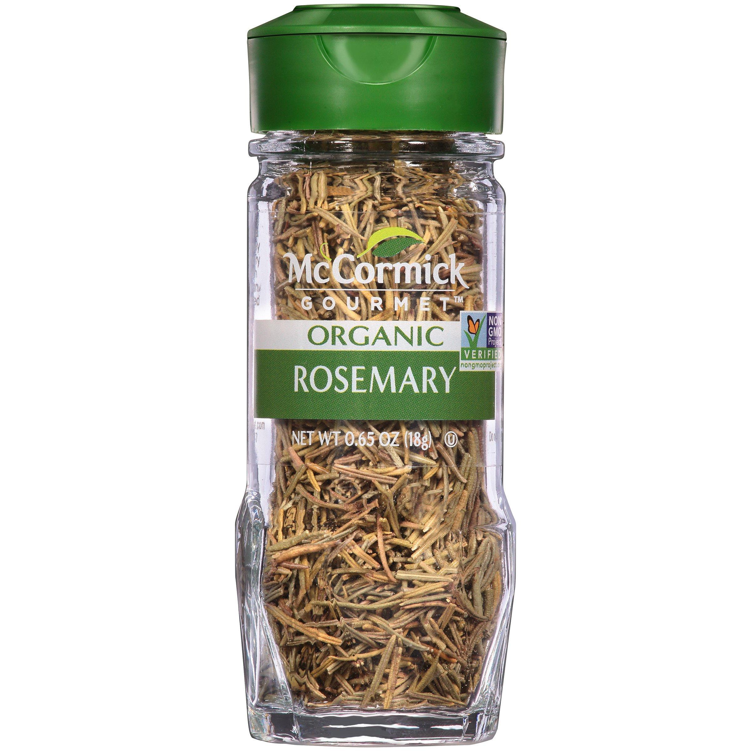 McCormick Gourmet Organic Rosemary, 0.65 oz