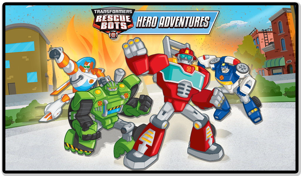 Amazon Com Transformers Rescue Bots Hero Adventures