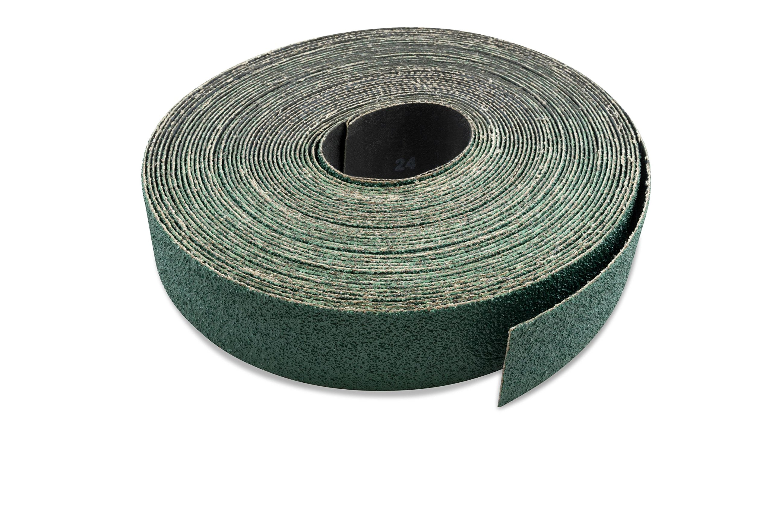 3 inch X 70 FT 80 Grit Zirconia Woodworking Drum Sander Roll, Cut Strips to Length