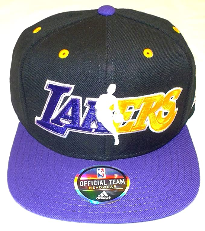 adidas NBA Los Angeles Lakers Flat Bill Gorra Gorro – OSFA – nj78z ...