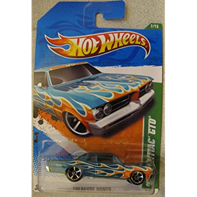 Hotwheels 2011 Treasure Hunt- '64 Pontiac GTO: Toys & Games