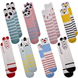 Eocom Unisex Baby Girls Cartoon Knee High Socks