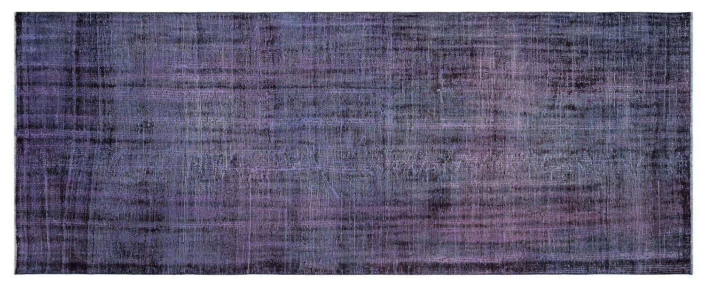 Bespoky ビンテージ 手織 ラグ 紫の ミディアムサイズ 126 X 328 Cm   B07HL137Z5