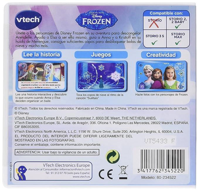 VTech- Disney Cartucho para Storio, Color Ninguno (80-234522)