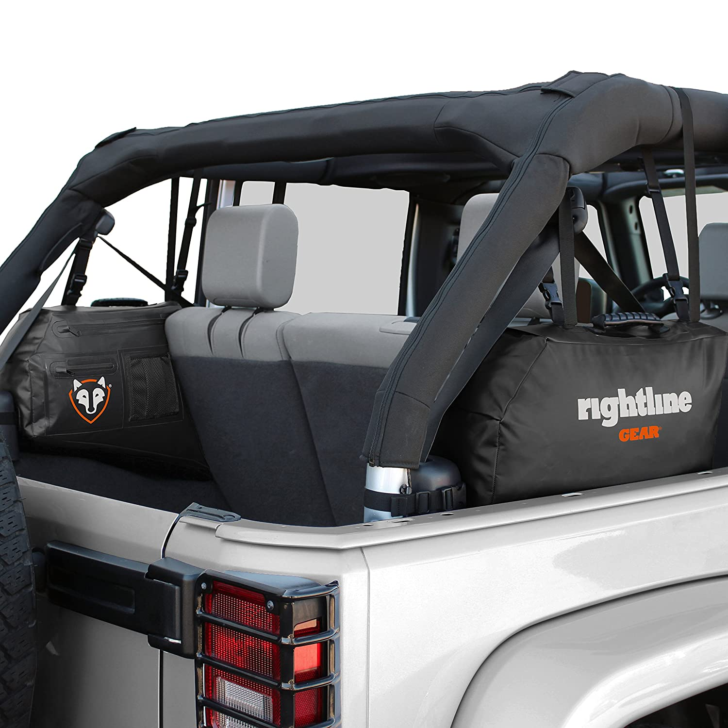 4-Door Rightline Gear 100J75 Side Storage Bags for Jeep Wrangler JK