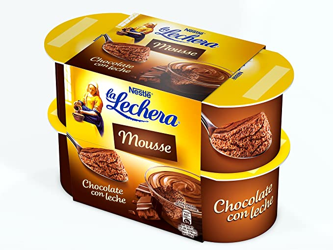 La Lechera, Postre lácteo (Chocolate) - 4 de 59 ml. (Total