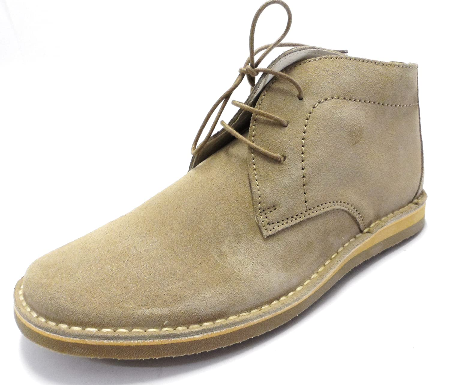 60s 70s Men's Clothing UK | Shirts, Trousers, Shoes Ikon Nomad Mens Desert Boots In Beige . £54.99 AT vintagedancer.com