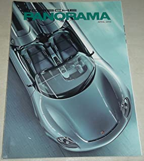 product image for Porsche Panorama, April 2010, Vol. 55 No. 4, The official magazine of the Porsche Club of America