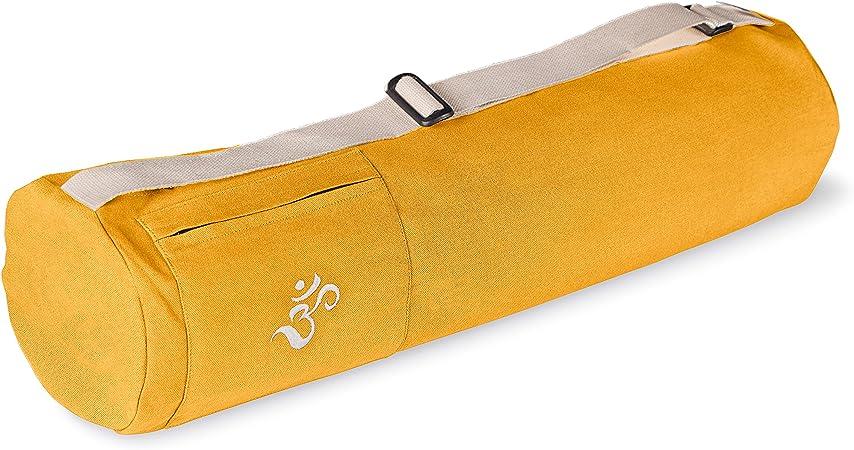 Sac pour Tapis de Yoga Sac Tapis Yoga Certifi/é GOTS Peut Contenir Tapis de Yoga et Accessoires /Équitable /& /Écologique Lotuscrafts Sac de Yoga RISHIKESH en Coton Bio Accessoires Yoga