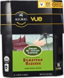 Green Mountain Coffee Fair Trade Organic Sumatran Reserve, Vue Cup Portion Pack for Keurig Vue Brewing Systems (16 Count)
