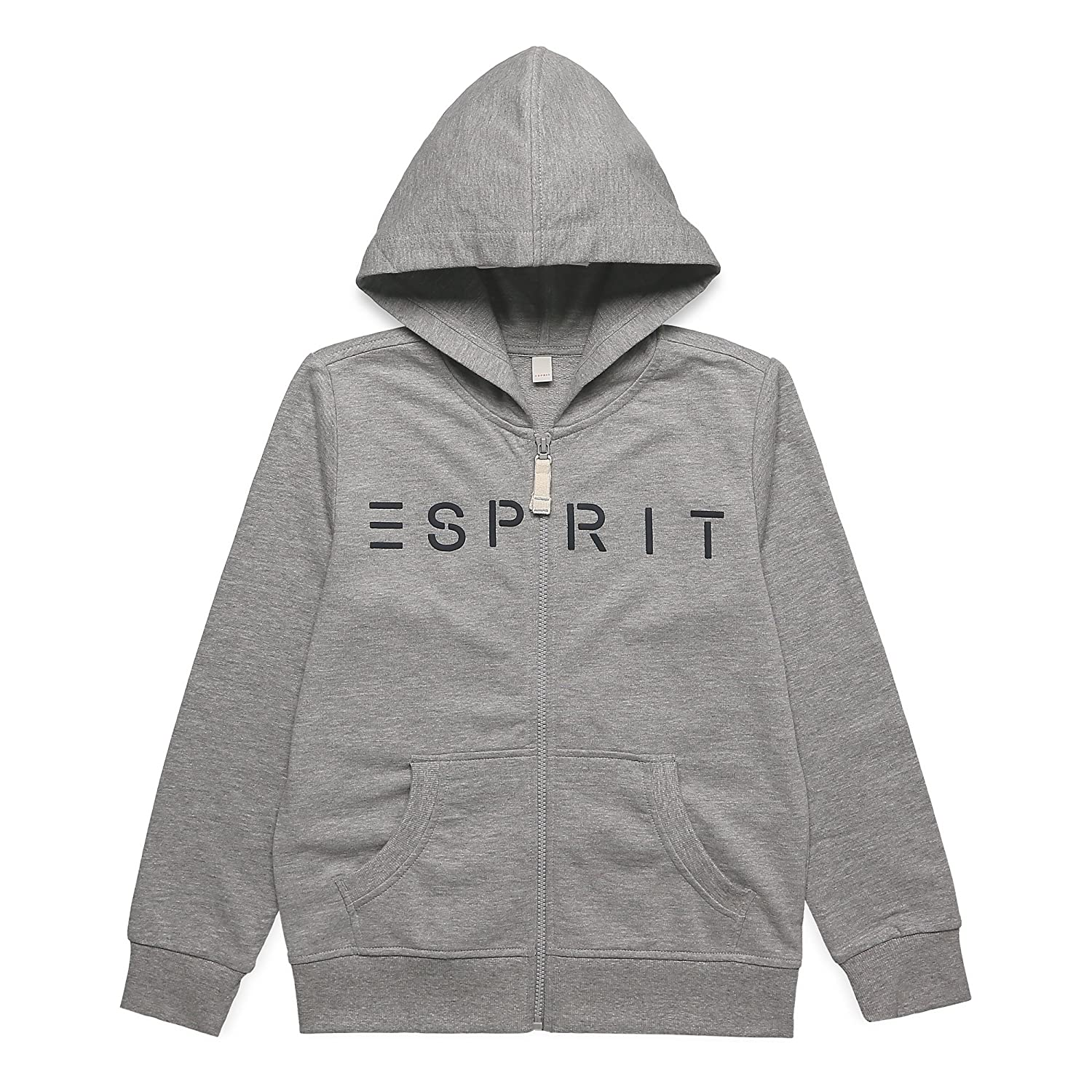 ESPRIT KIDS Jungen Strickjacke Grau (Mid Heather Grey 260) RK17026