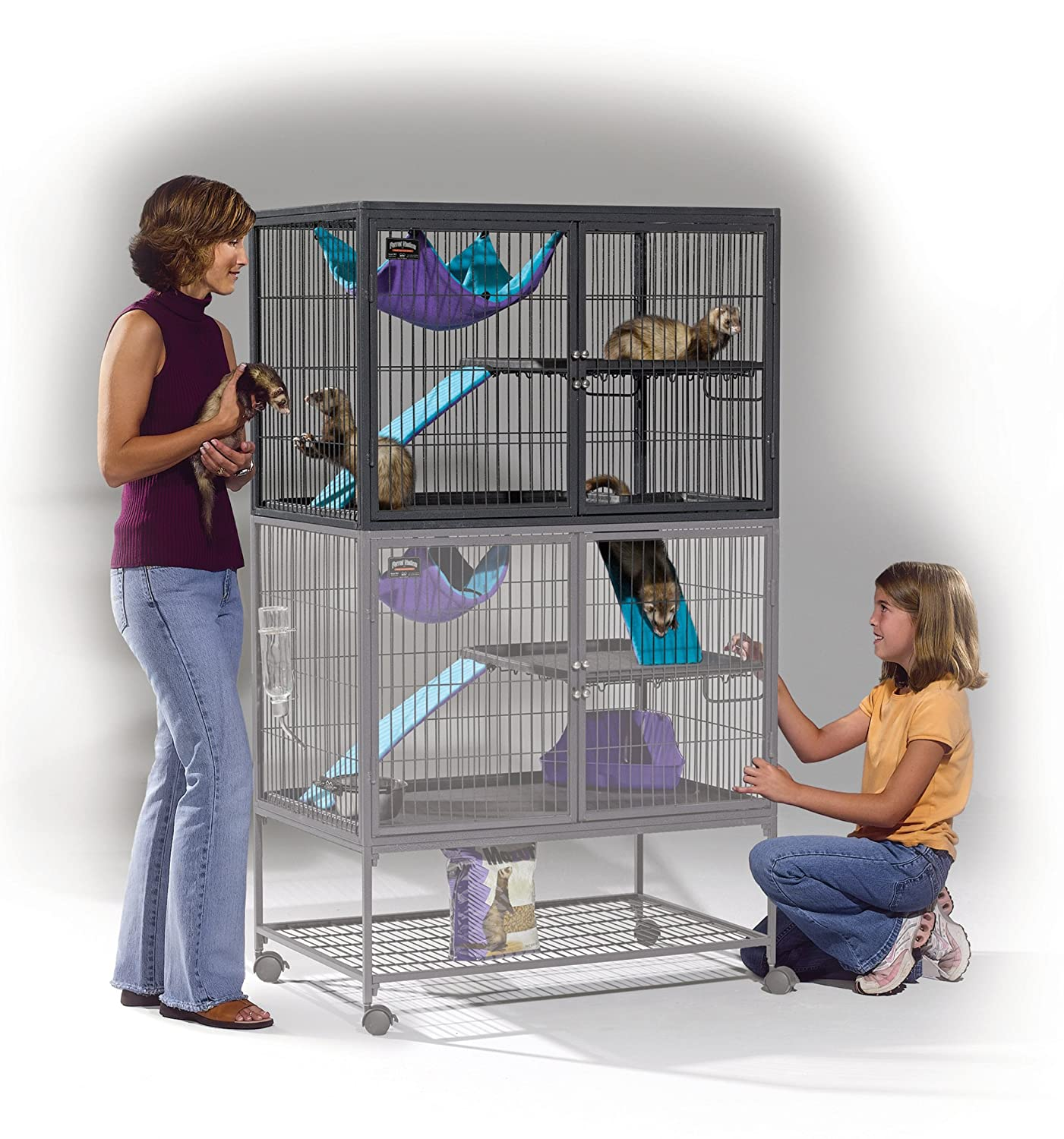 Amazon MidWest Deluxe Ferret Nation Add Unit Ferret Cage