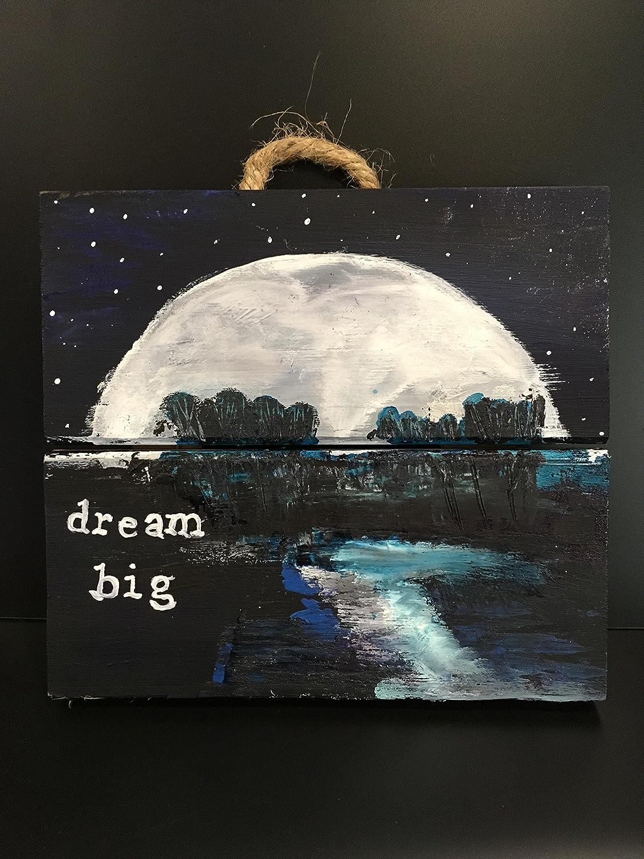 com dream big happiness original artwork hand painted